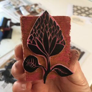 Block Printing on Fabric (beginners)
