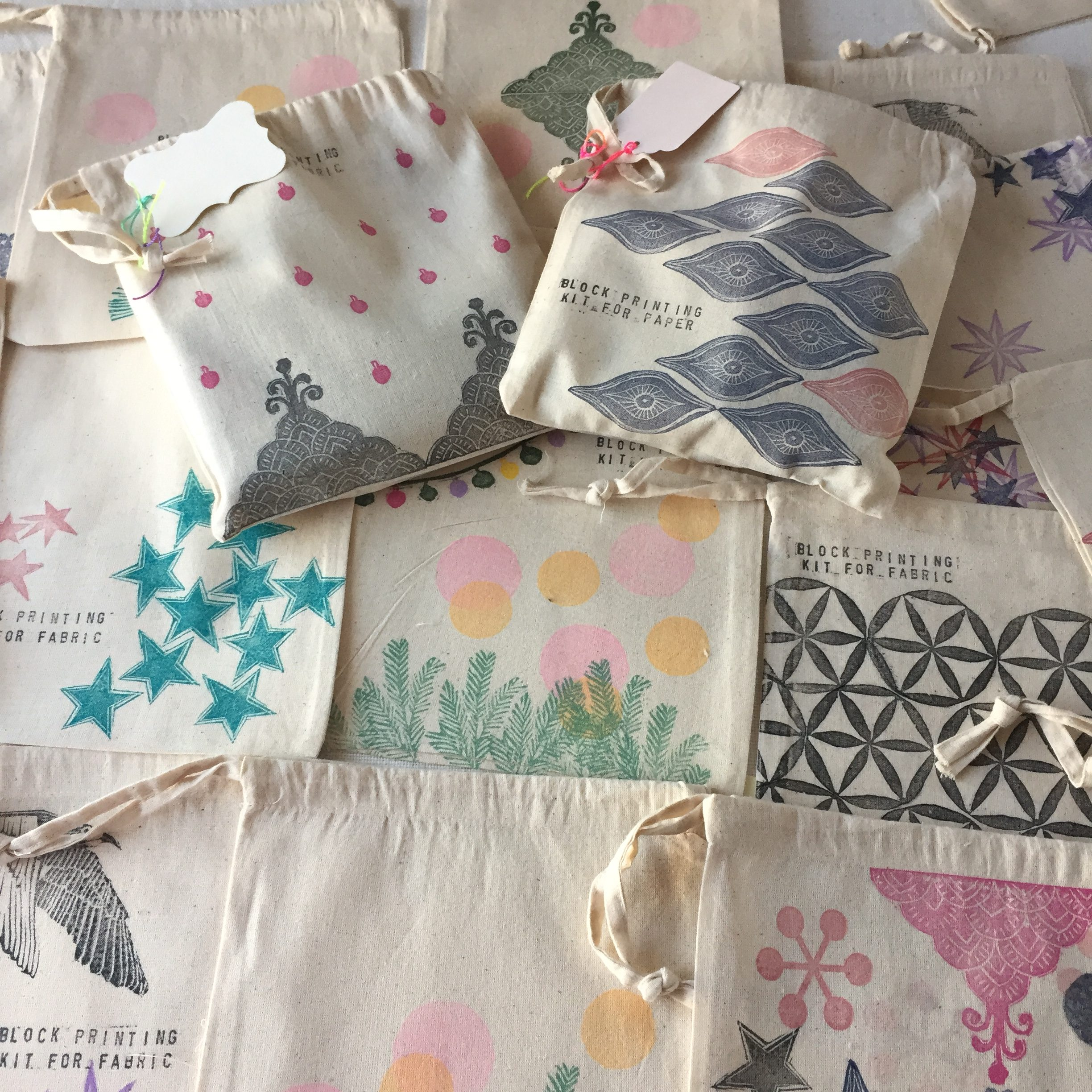 Block Printing On Fabric Kits Out Of Stock Out Of Bounds
