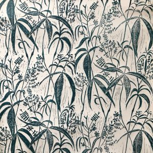 hand printed wallpaper