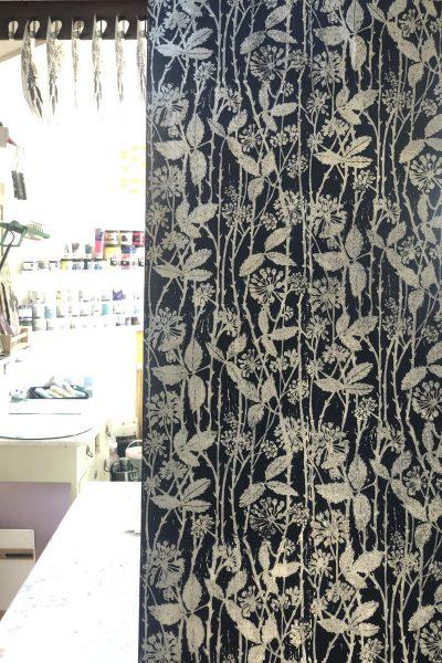 Hand printed wallpaper for sale | Block printed wallpaper