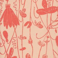 Hand printed wallpaper for sale