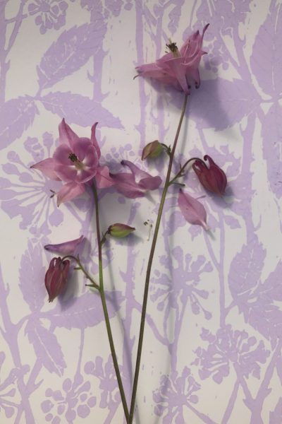 Hand printed wallpaper for sale - Interiors